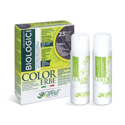 Color Erbe Biologici No.23 Tmavá blond 6.0