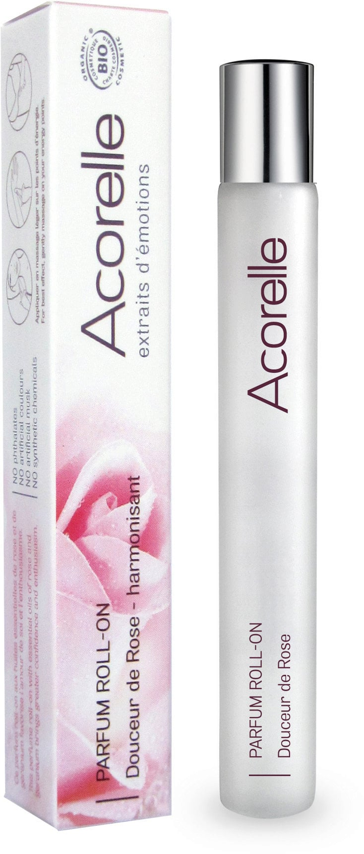 ACORELLE EDP Roll-on Douceur de Rose/Růže
