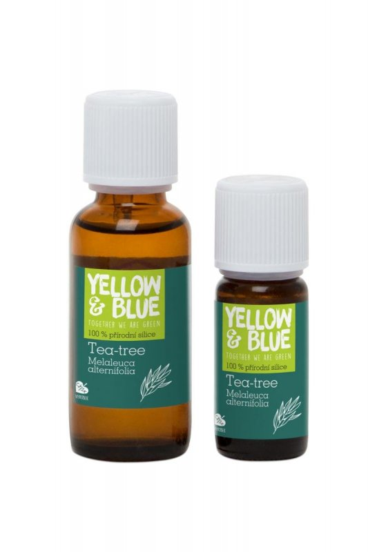 Yellow & Blue Tea tree silice