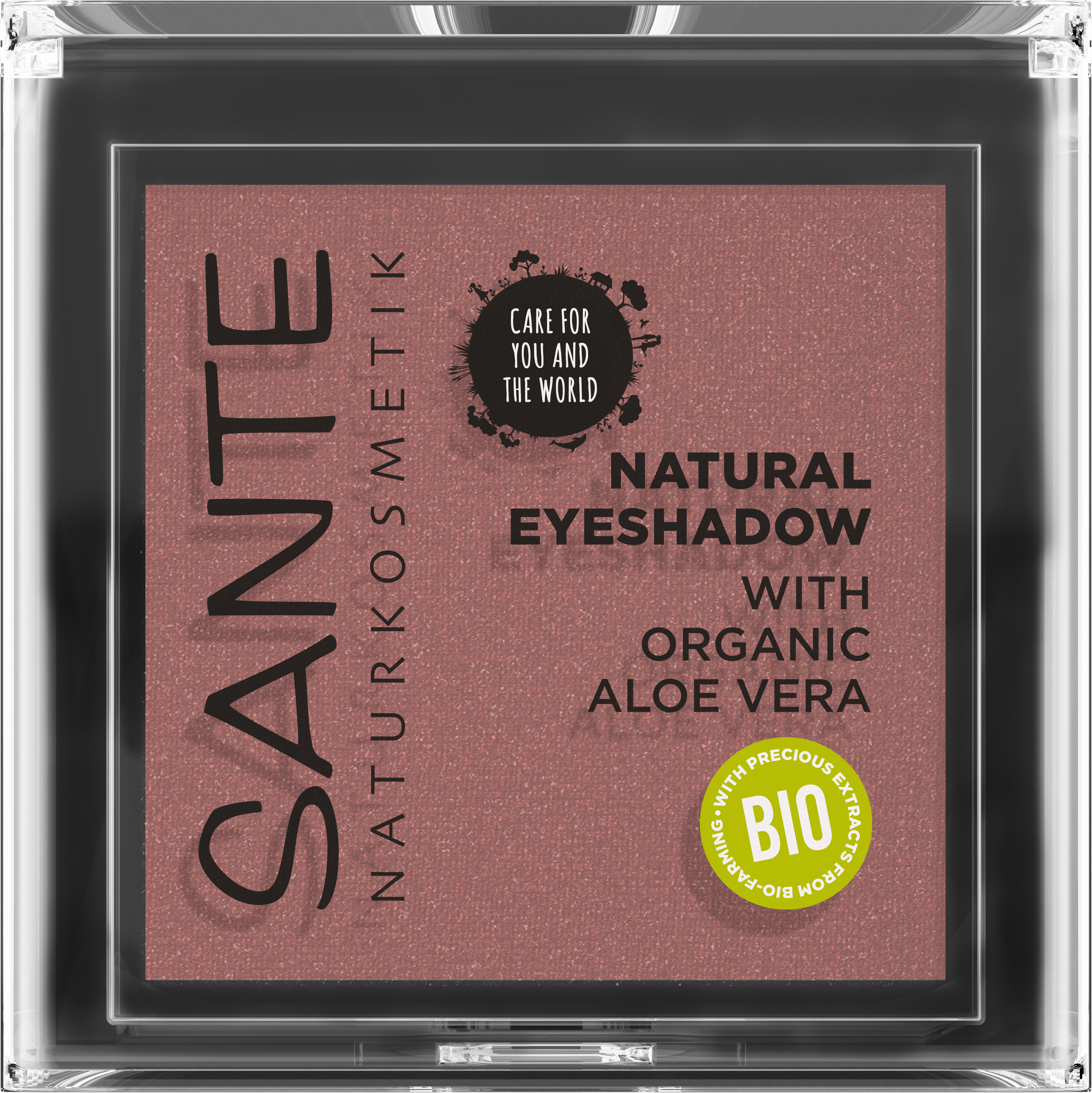 SANTE Natural Oční stín No.02 Sunburst Copper