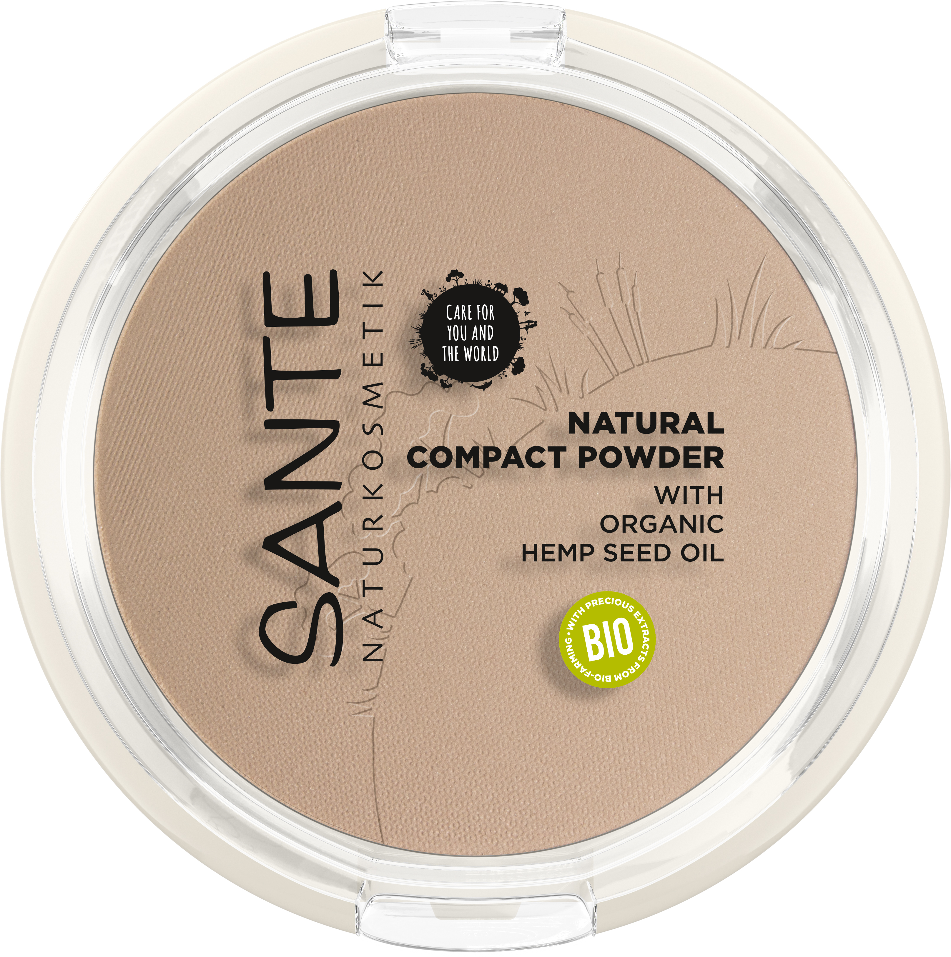 SANTE Natural Kompaktní pudr No.02 Neutral Beige